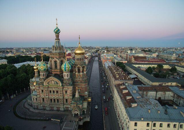 Kuşbakışı St. Petersburg