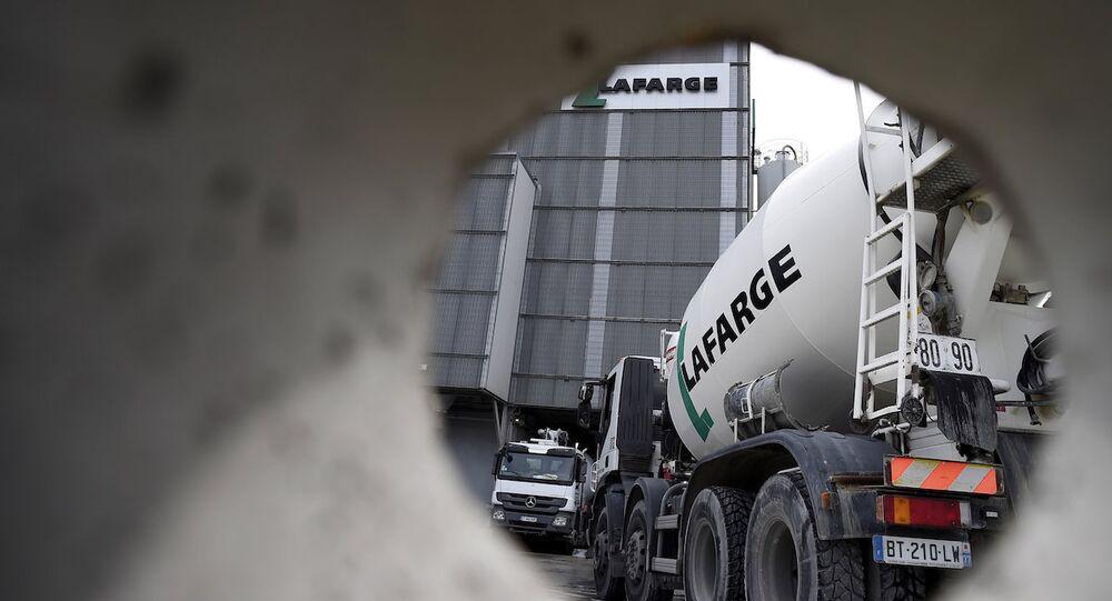 Fransız inşaat şirketi Lafarge.