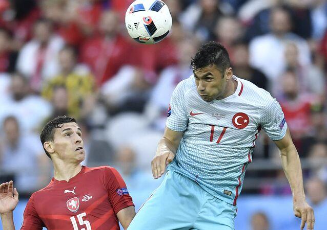 Türkiye-Çek Cumhuriyeti maçı.