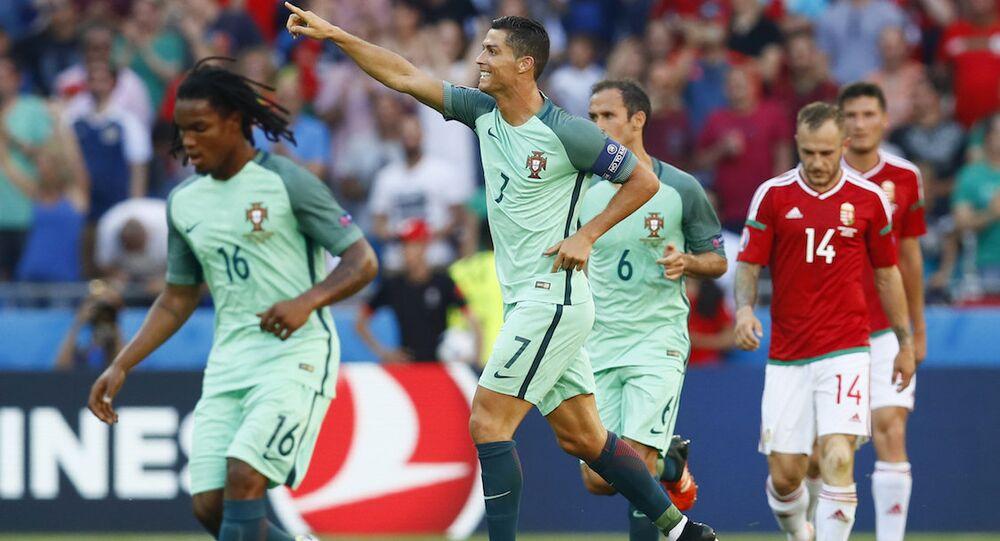 Portekiz Milli Takımı'nın yıldız oyuncusu Cristiano Ronaldo