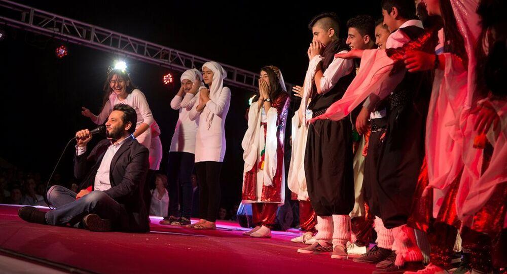 Irak'ta 'Yetenek Sizsiniz Mülteciler' yarışması