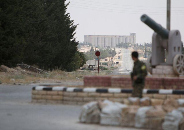 Demokratik Suriye Güçleri Menbiç'te.
