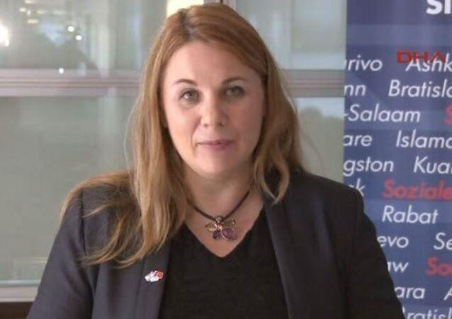 İsrail Siyonist Birliği Partisi üyesi Milletvekili Ksenia Svetlova