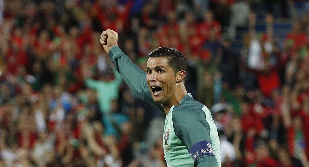 Futbolcu Cristiano Ronaldo
