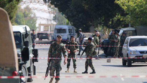 Lübnan'ın Suriye sınırında bulunan El-Kaa kasabasında art arda saldırılar yaşandı - Sputnik Türkiye
