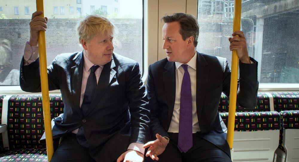 Boris Johnson - David Cameron