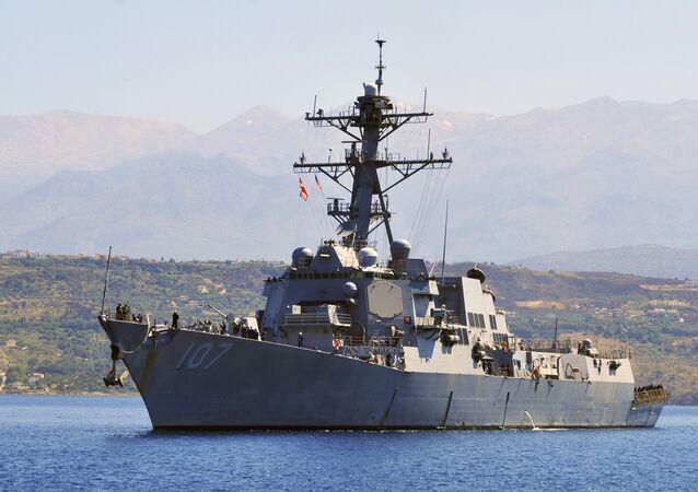 USS Gravely / ABD donanmasına ait güdümlü füze destroyer gemisi