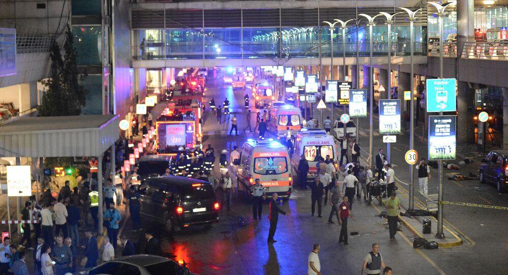 İstanbul Atatürk Havalimanı'na saldırı