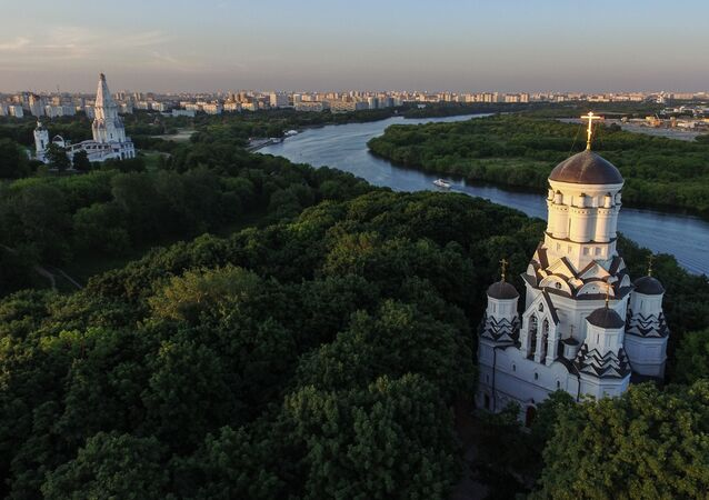 Moskova'daki Kolomenskoye Parkı