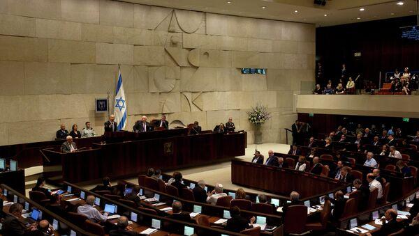 İsrail parlamentosu Knesset - Sputnik Türkiye
