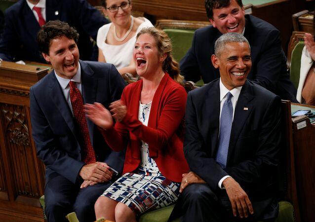 Kanada Başbakanı Justin Trudeau- ABD Başkanı Barack Obama