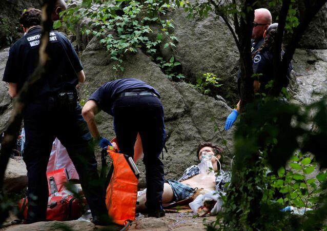 Central Park'taki patlamada bir kişi yaralandı.