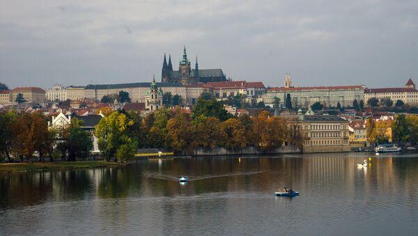 Prag'daki Kampa adasından bir görünüm - Sputnik Türkiye