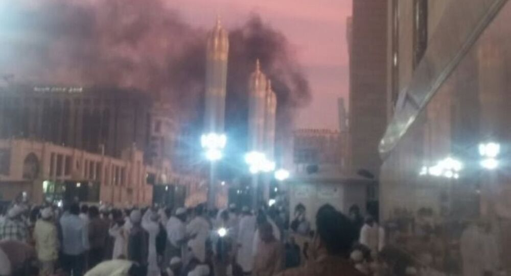 Suudi Arabistan patlama