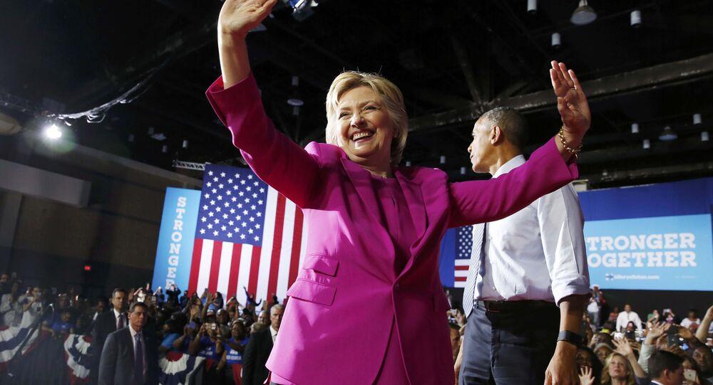 Barack Obama - Hillary Clinton