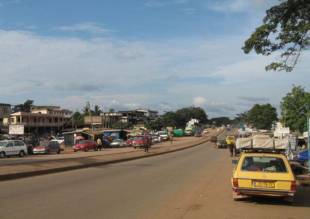 Ghana'nın Kumasi kenti