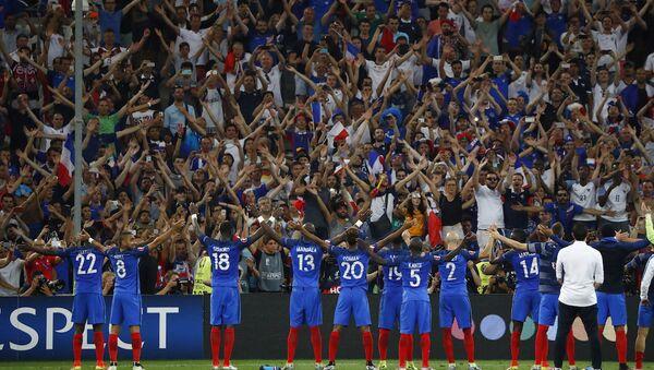 Fransa, EURO 2016'da finale yükseldi. - Sputnik Türkiye