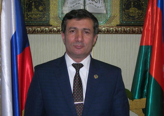 Rusya'da faaliyet gösteren Azeri diaspora teşkilatları liderlerinden Seyran Hüseyinov