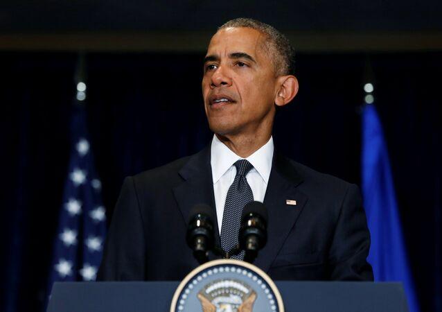 ABD Başkanı Barack Obama, Dallas saldırısının ardından NATO Zirvesi için gittiği Polonya'da açıklama yaptı.