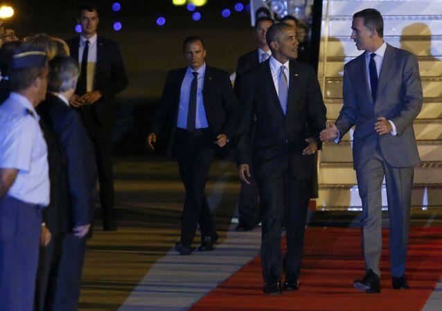 ABD Başkanı Barack Obama - İspanya Kralı 6. Felipe