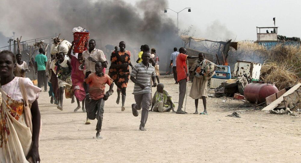 Güney Sudan çatışma