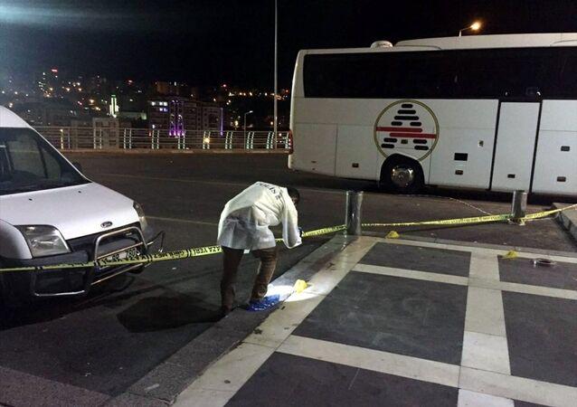 Şanlıurfa'da şehirlerarası otobüs terminalinde çatışma