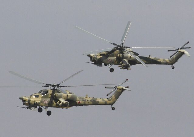 Mi-28NE tipi 'Gece Avcısı' savaş helikopteri