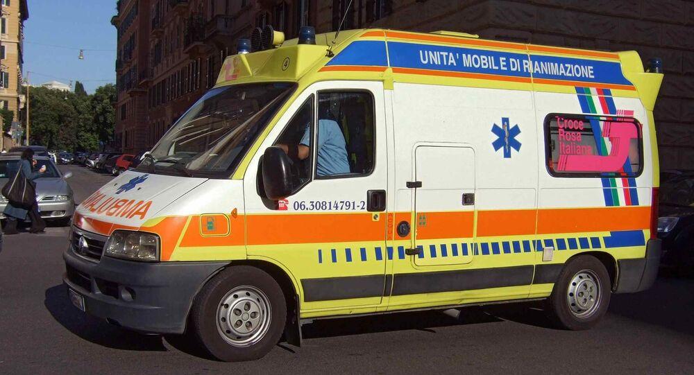 İtalya - ambulans