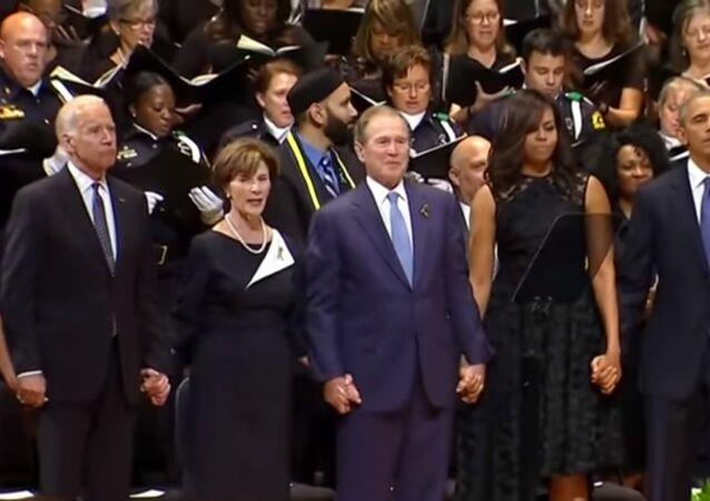 George W. Bush - Dallas anması