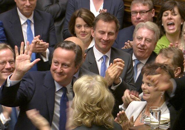 David Cameron, son kez Başbakan'a Sorular oturumuna katıldı.