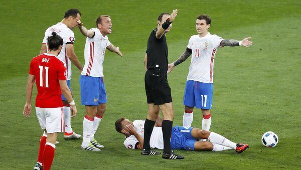 EURO 2016, Rusya-Galler maçı - Sputnik Türkiye