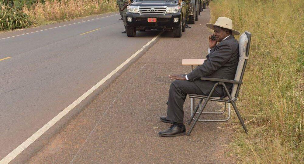 Uganda Cumhurbaşkanı Yoweri Museveni