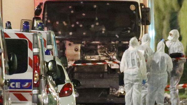Nice saldırısını gerçekleştiren kişinin hırsızlık ve şiddet suçundan sabıkasının olduğu ancak Fransa'nın terör listesinde yer almadığı belirtildi. - Sputnik Türkiye