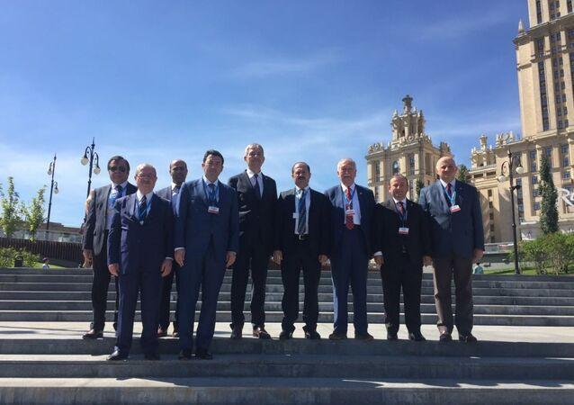TBMM - KEİPA Türk Grubu Başkanı AK Parti Kırıkkale Milletvekili Ramazan Can ve üyeler.
