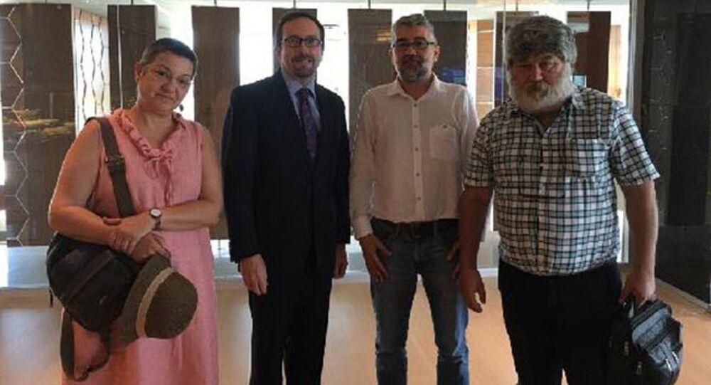 Büyükelçi Bass'tan Önderoğlu, Nesin ve Fincancı'ya ziyaret