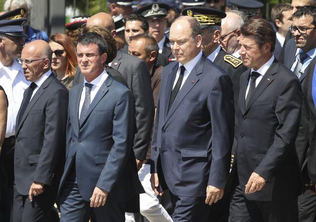 Manuel Valls - Nice'te