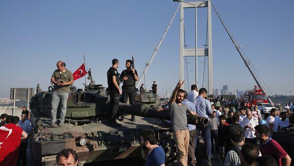 Türkiye'de darbe girişimi - Sputnik Türkiye