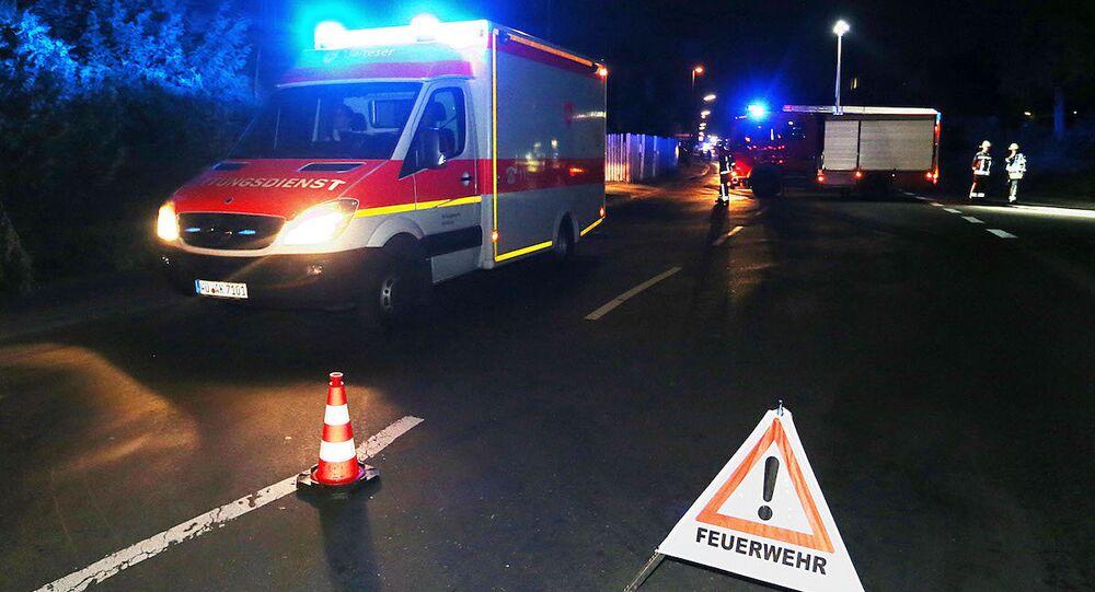 Almanya'da bir kişi, tren yolcularına baltayla saldırdı.