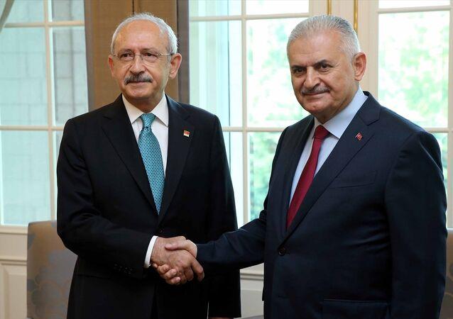 Kemal Kılıçdaroğlu - Binali Yıldırım