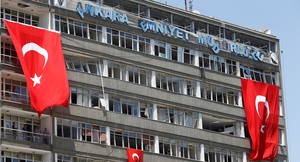 Darbe girişimi - Ankara Emniyet Müdürlüğü