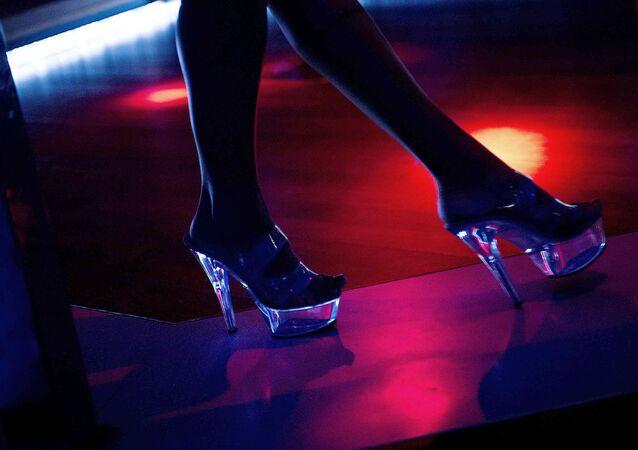Striptiz kulübü.