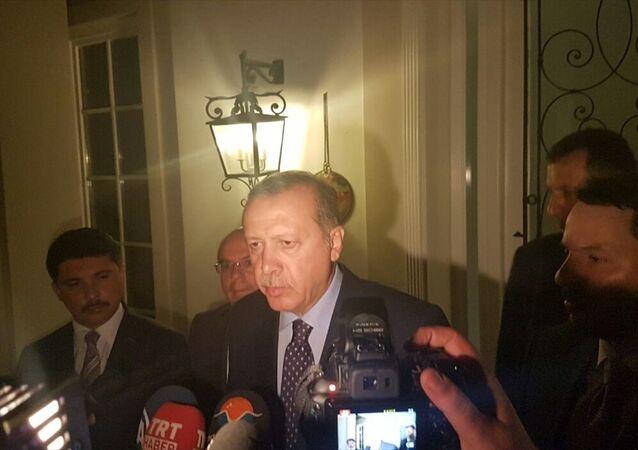 Darbe girişimi - Cumhurbaşkanı Erdoğan Marmaris'te gazetecilere açıklamalarda bulundu