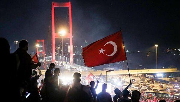 darbe girişimi protesto - Sputnik Türkiye