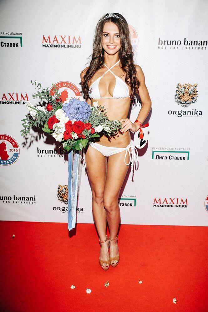 Yarışmanın sonucunda Miss Maxim 2016, Nijnıy Novgorod'dan Natalya Şuvalova oldu.21 yaşındaki genç kadın, güzelliğiyle göz doldurdu.