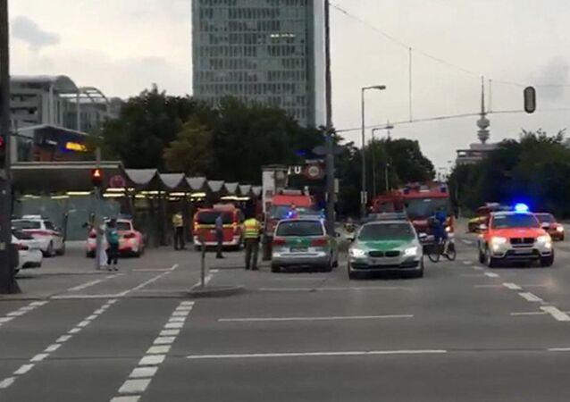 Münih saldırı