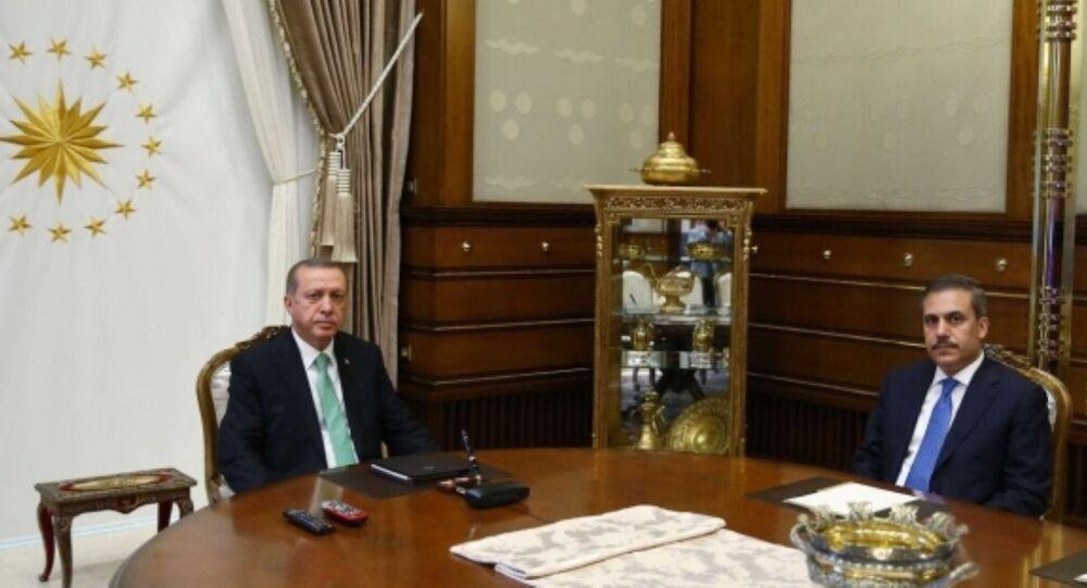 Tayyip Erdoğan - Hakan Fidan