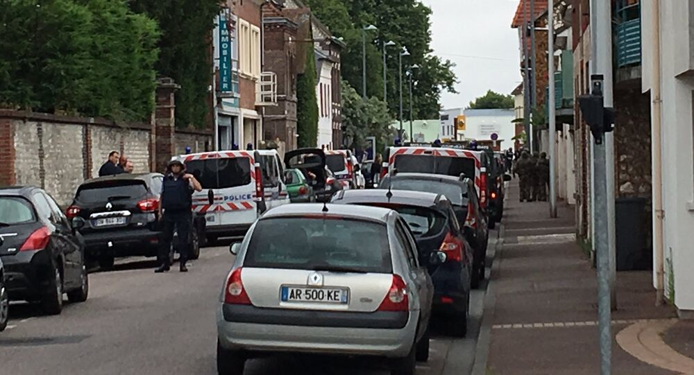 Two Armed Men Take Hostages in Church in France's Normandy