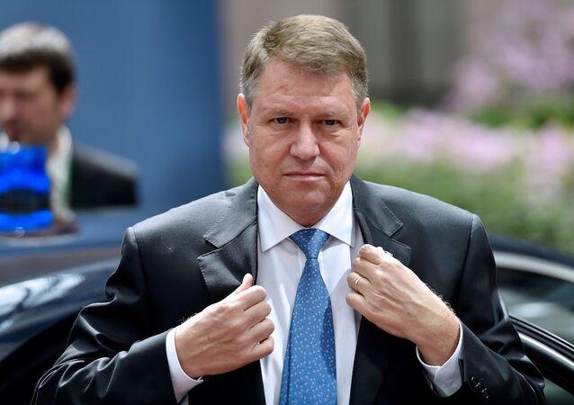 Romanya Cumhurbaşkanı Klaus Iohannis