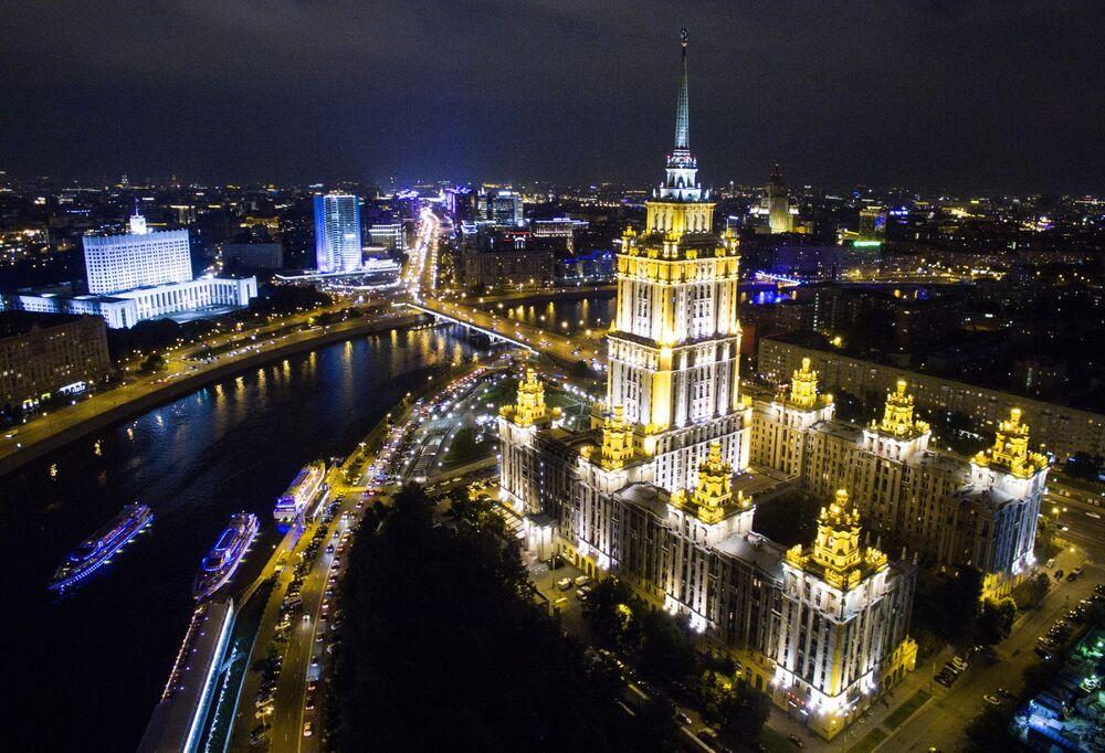 Moskova'daki Radisson Royal oteli