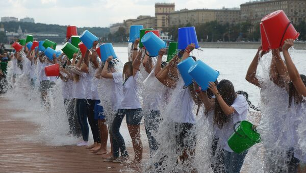 Ice Bucket Challenge - Sputnik Türkiye